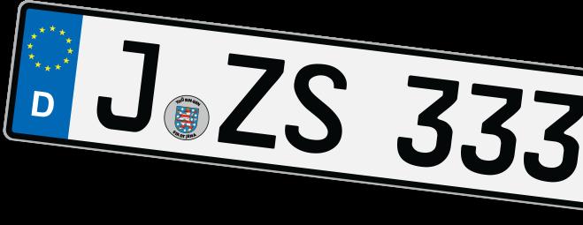 Euro-Kennzeichen